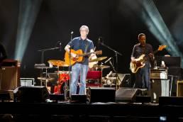 Eric Clapton am 14. Juni 2013 beim Konzert in der König-Pilsener-Arena in Oberhausen.